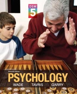 Psychology with MyPsychLab DSM5  by  Carole Wade