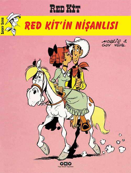 Red Kitin Nişanlısı - Red Kit #73 Guy Vidal