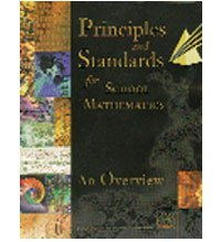 Principles And Standards For School Mathematics National Research Council
