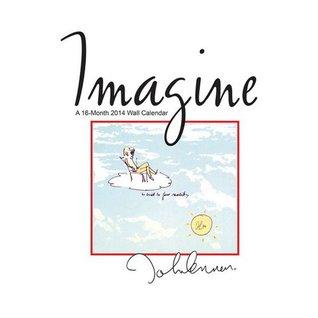 Imagine ? John Lennon 2014 Wall Calendar NOT A BOOK