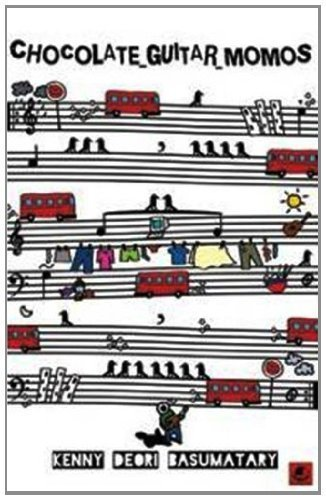 Chocolate guitar momos  by  Kenny Deori Basumatary