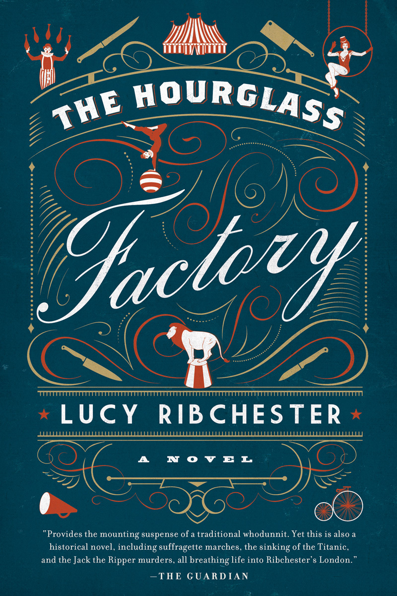 The Hourglass Factory: A Novel  by  Lucy Ribchester