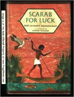 Scarab for Luck: a Story of Ancient Egypt  by  Enid LaMonte Meadowcroft