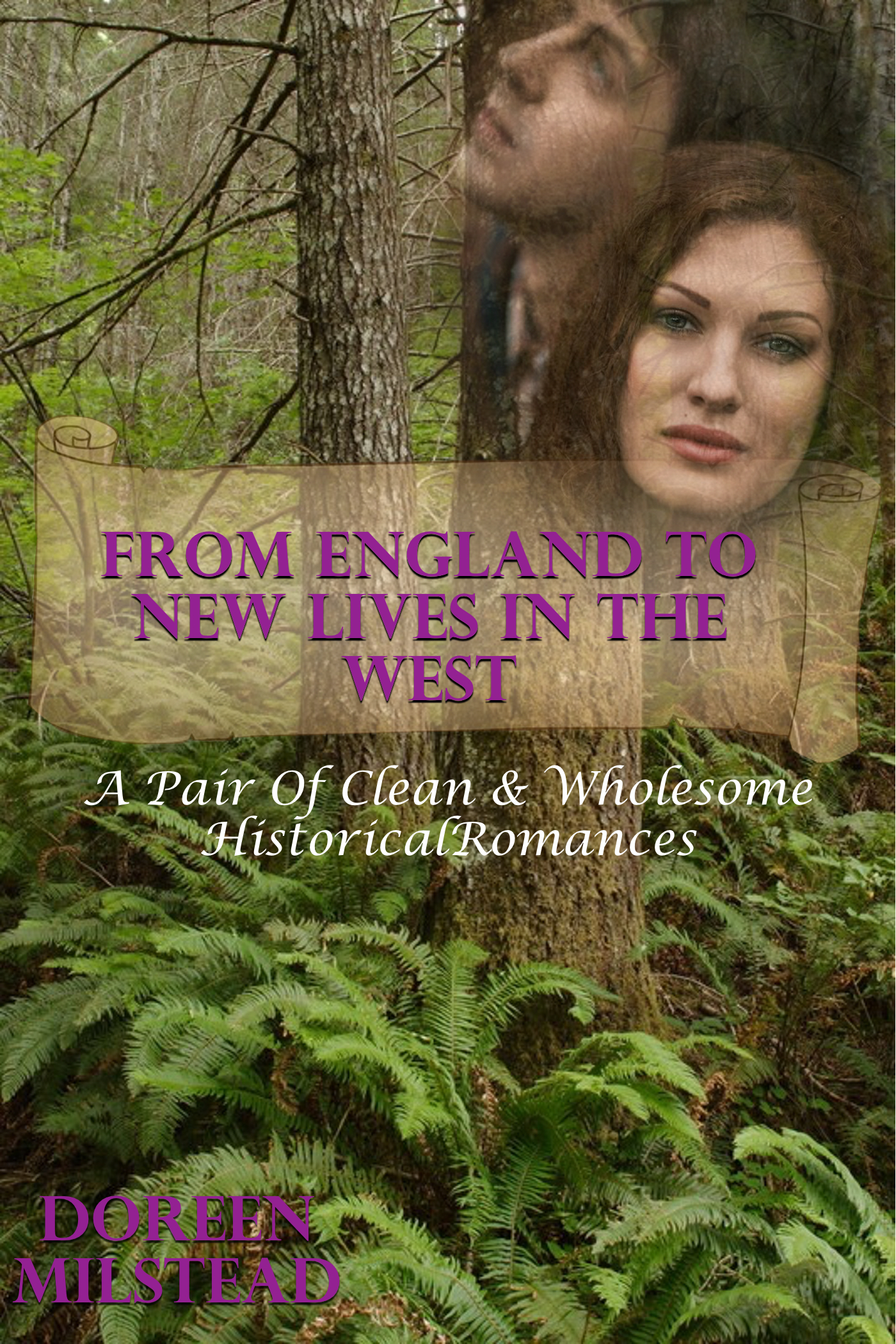 From England To New Lives In The West Doreen Milstead