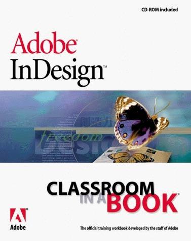 Adobe InDesign Classroom in a Book Adobe Development Team