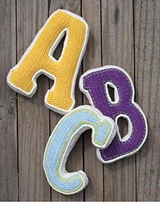 Crochet A to Z alphabets with Symbolic Patterns  by  Eve David