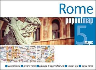 Rome PopOut Map  by  Popout Maps