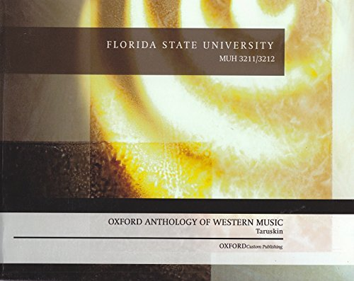 Oxford Anthology Of Western Music  by  Taruskin