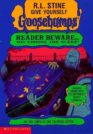 The Curse of the Creeping Coffin (Give Yourself Goosebumps #8) R.L. Stine