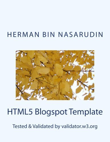 HTML5 Blogspot Template: Validated  by  validator.w3.org by Faradillah N.Hikmah
