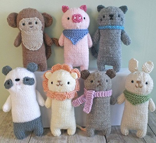 Knit Baby Animal Pattern Set Amy Gaines