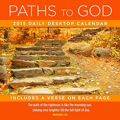 2015 Paths to God Daily Desktop Calendar  by  TF Publishing