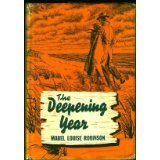 The Deepening Year Mabel Louise Robinson