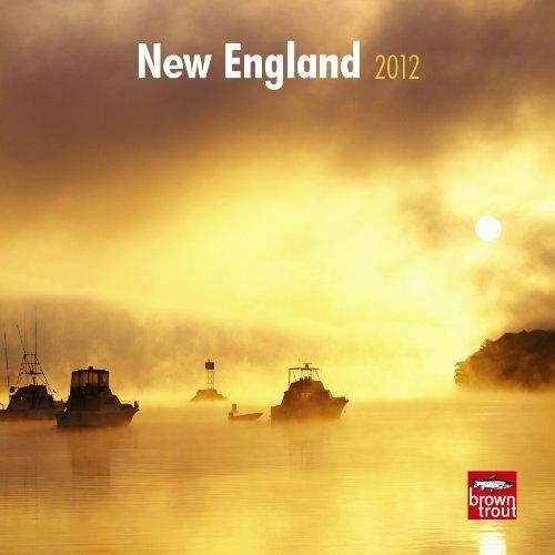 New England 2012 7X7 Mini Wall Calendar  by  NOT A BOOK