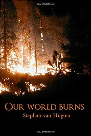 Our world burns  by  Stephan van Hugten