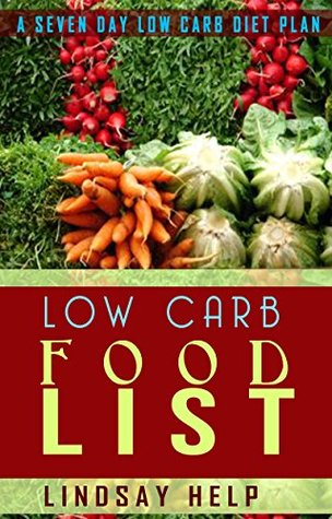 Low Carb Food List A Seven Day Low Carb Diet Plan  by  Lindsay Help