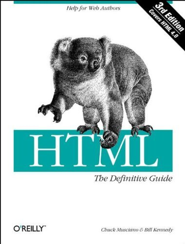 HTML: The Definitive Guide  by  Chuck Musciano