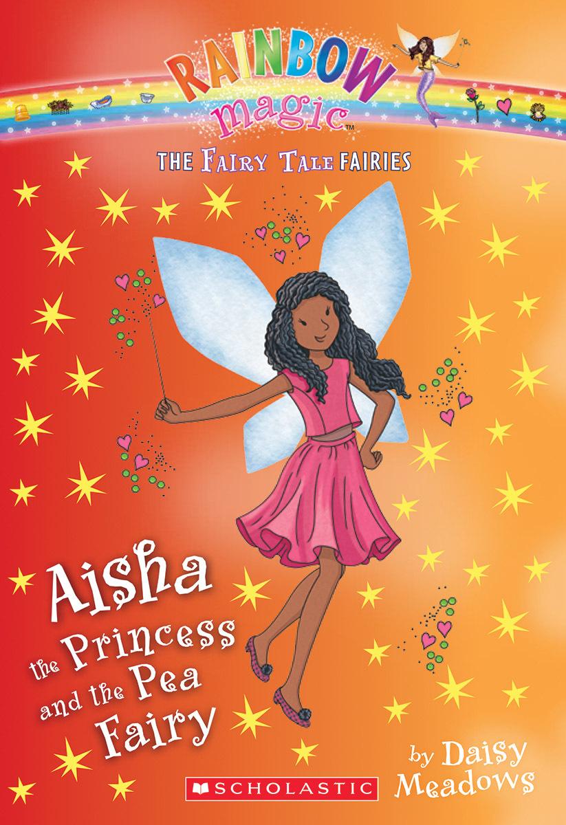 Aisha the Princess and the Pea Fairy (The Fairy Tale Fairies #6)  by  Daisy Meadows