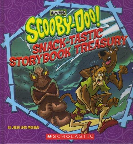 Scooby-Doo! Snack-Tastic Storybook Treasury  by  Jesse Leon McCann