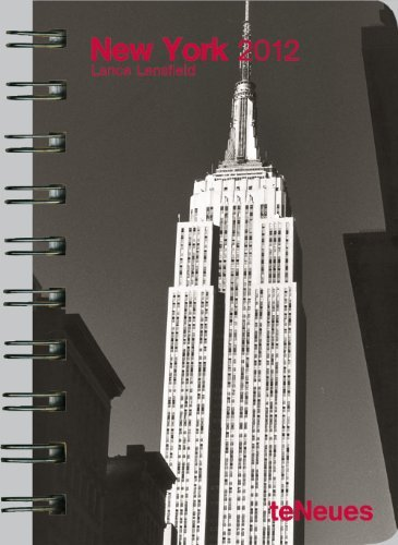 2012 New York Deluxe Pocket Engagement Calendar  by  LensfieldLance
