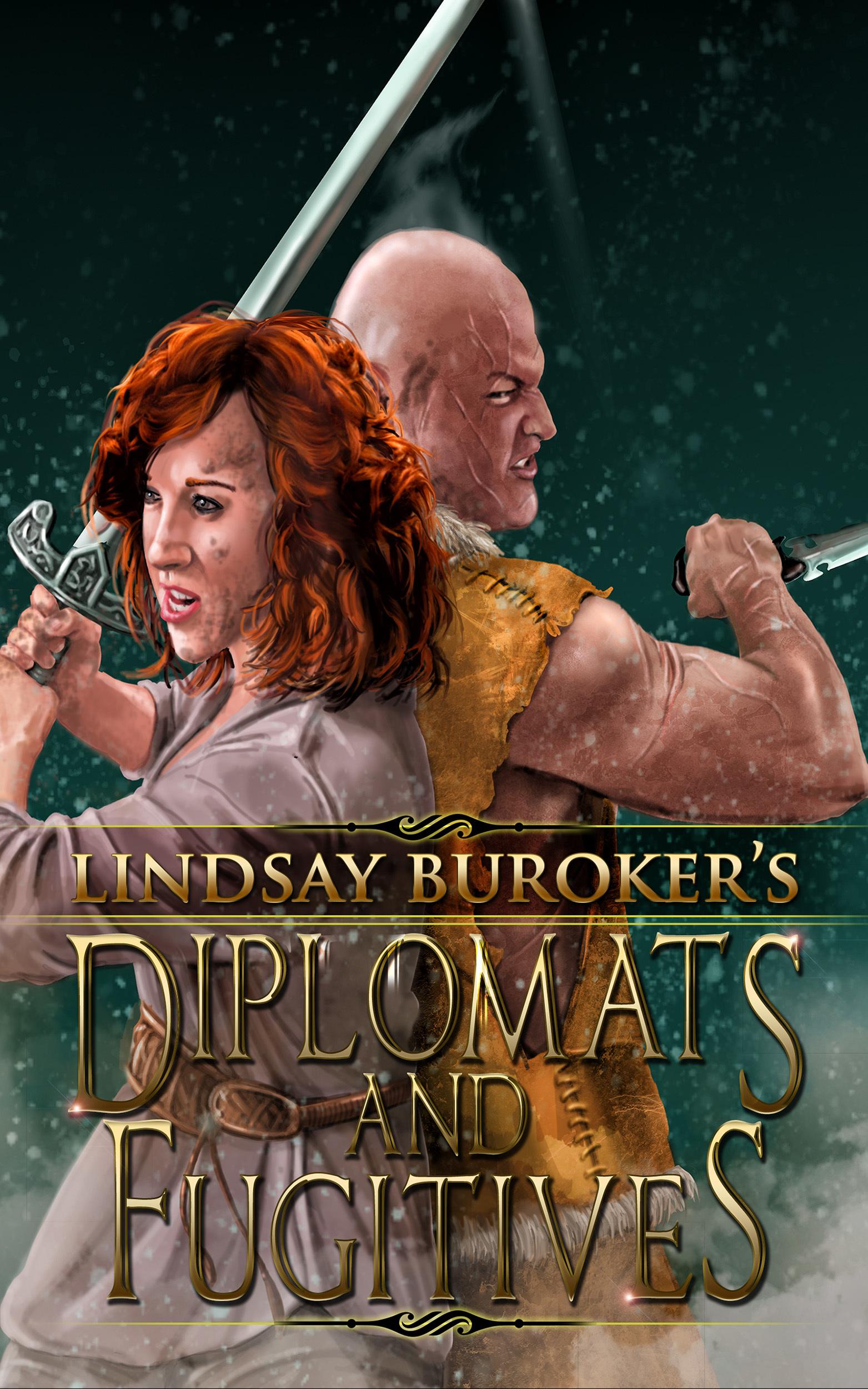 Diplomats and Fugitives (The Emperors Edge, #9) Lindsay Buroker
