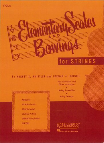 Elementary Scales and Bowings - Viola (Music Instruction):  by  Pamela Uschuk