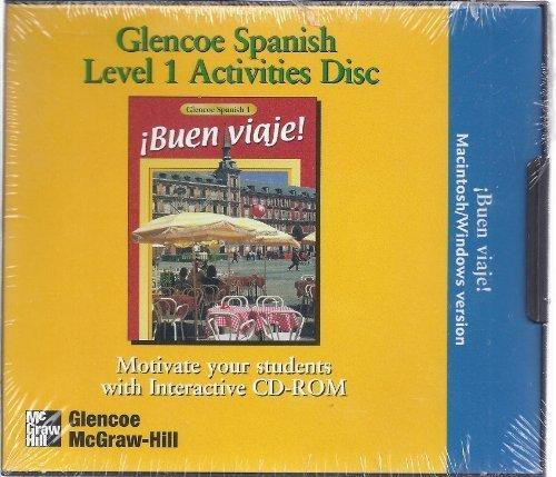 Glencoe Spanish Level 1 Activities Disc  by  Staff