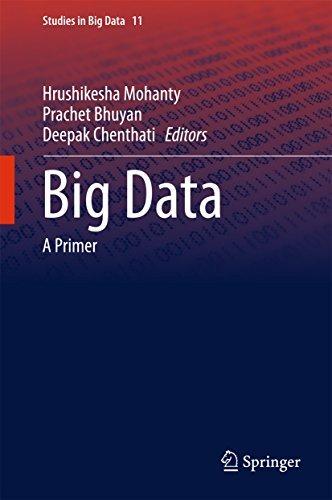 Big Data: A Primer  by  Hrushikesha Mohanty