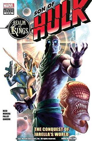 Realm of Kings: Son of Hulk #1 (of 4) (Realm of Kings: Son of Hulk Vol. 1) Scott Reed