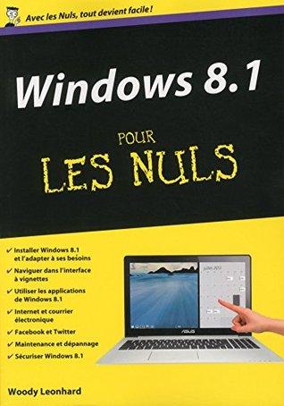 Windows 8.1 Mégapoche Pour les Nuls Andy Rathbone
