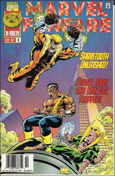 Sabretooth Unleased - Second Chances (Marvel Fanfare II, #6) Jorge González
