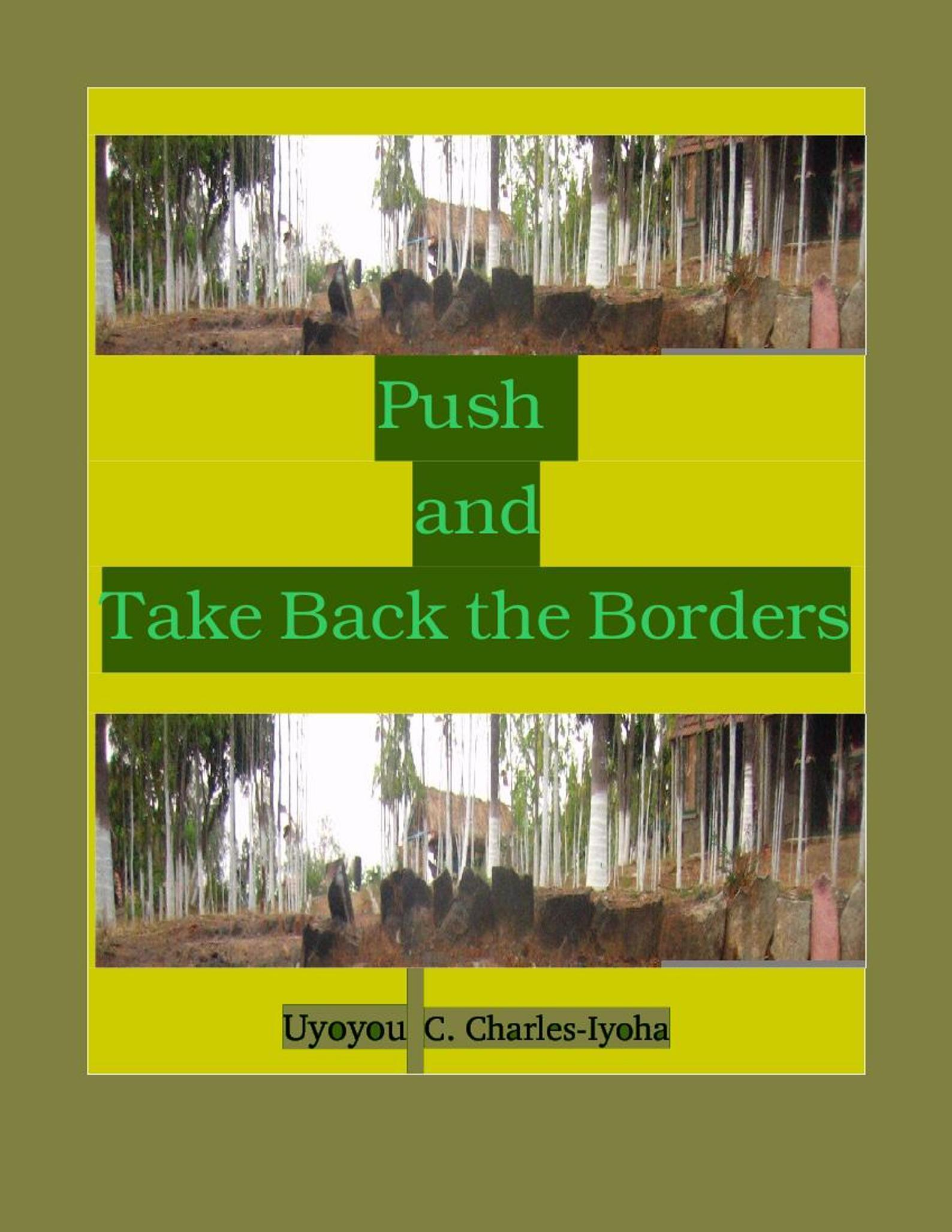 Push and Take Back the Borders  by  Uyoyou .C Charles-Iyoha