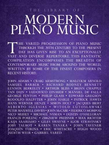 The Library Of Modern Piano Music Various