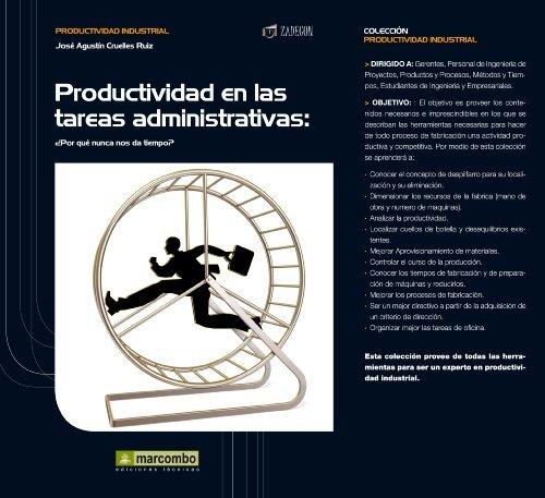 Productividad en las tareas administrativas JOSÉ AGUSTÍN CRUELLES RUIZ