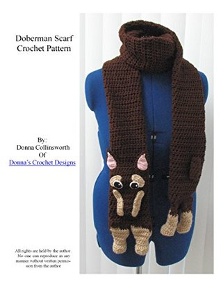 Doberman Scarf Crochet Pattern Donna Collinsworth