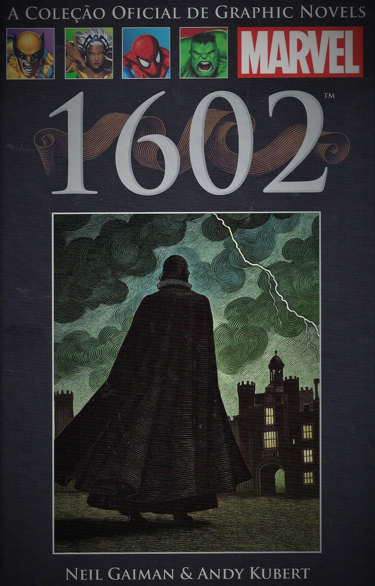 1602 (A Coleção Oficial de Graphic Novels da Marvel, #32) Neil Gaiman