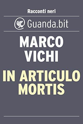 In articulo mortis Marco Vichi
