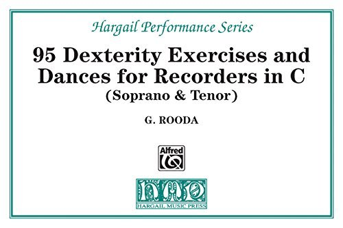 Finger Dexterity Exercises and Pieces for C Recorders: 0 (Hargail Performance Series)  by  G. Rooda