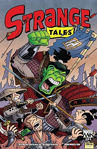 Strange Tales #3 (of 3) (Strange Tales Vol. 1) Stan Sakai