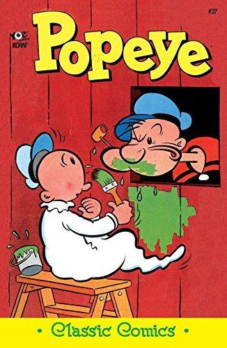 Popeye Classics #27  by  Bud Sagendorf