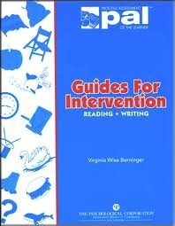 Guides for intervention: Reading, writing  by  Virginia Wise Berninger