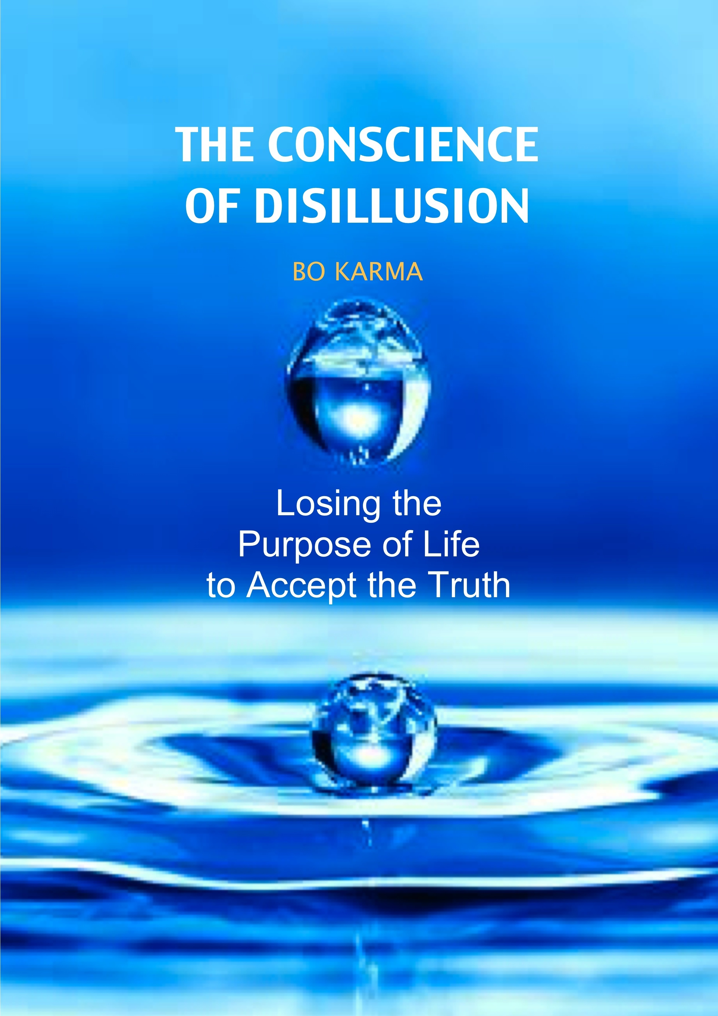 The Conscience of Disillusion: Losing the purpose of life to accept the truth  by  Bo Karma