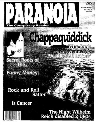 PARANOIA Magazine #7  by  Joan dArc