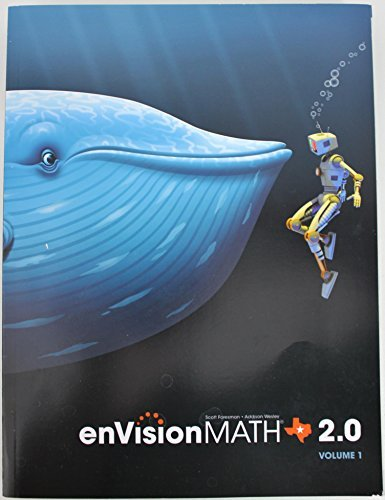 enVision Math 2.0 Texas Edition Volume 1 5th Grade Workbook - Student Edition 2015  by  Scott Foresman