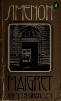 Maigret and the Enigmatic Lett Georges Simenon