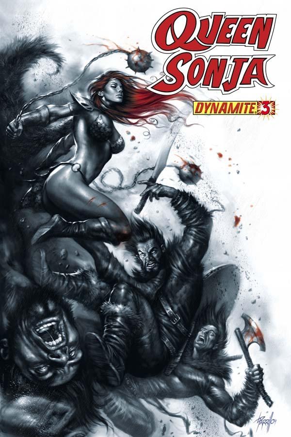 Queen Sonja #3  by  Joshua Ortega