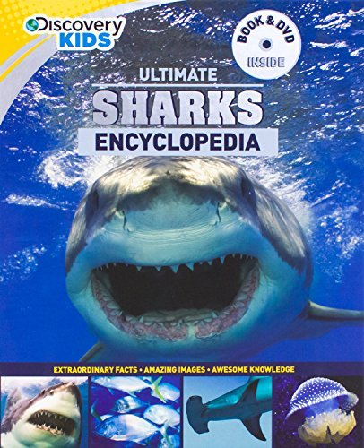 Ultimate Sharks Encyclopedia W/DVD Parragon Books