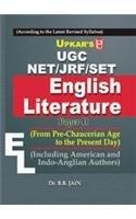 UGC NET/JRF/SET English Literature Dr. B.B. Jain