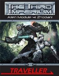 Traveller: Alien Module 4: Zhodani (MGP3856)  by  Don McKinney