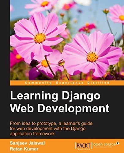 Learning Django Web Development  by  Sanjeev Jaiswal